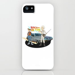 Back to the Future - Cartoon iPhone Case