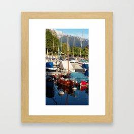 Yachts II Framed Art Print