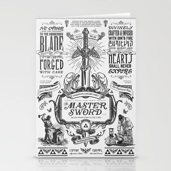Legend Of Zelda Vintage Master Sword Advertisement