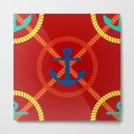 Anchors 2 Metal Print