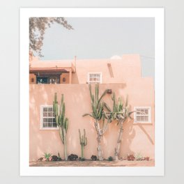 Vintage Los Angeles Art Print