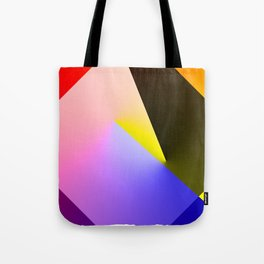 Expressionist Cubes II  Tote Bag