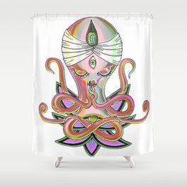 Swamipus Octopi Shower Curtain