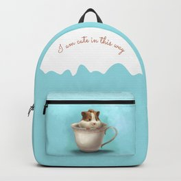 hamster in the cup Backpack