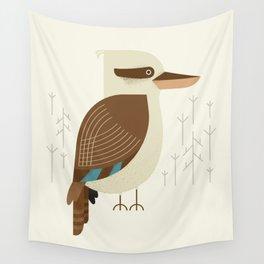 Laughing Kookaburra, Bird of Australia Wall Tapestry