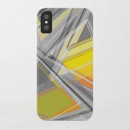 ∆Yellow iPhone Case