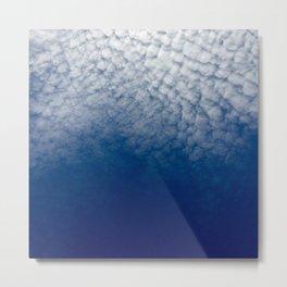 Cloudy Cali Metal Print