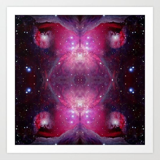 Nebula I Art Print