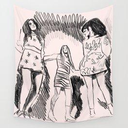 Dancing Queens Wall Tapestry