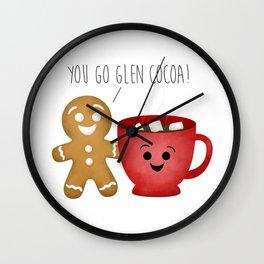 You Go Glen Cocoa! Wall Clock