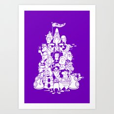 Day at the Mansion Art Print