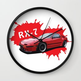 JDM Car Wall Clock