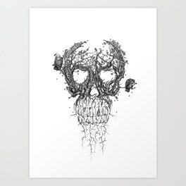 The Vulture Tree Art Print