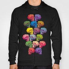 skull in color Hoody