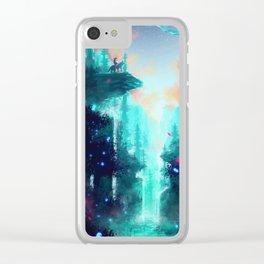 Mononoke Forest Clear iPhone Case