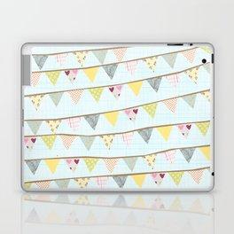 bunting fun Laptop & iPad Skin