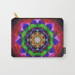 Rose Mandala Carry-All Pouch