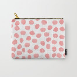 Natalia - abstract dot painting dots polka dot minimal modern gender neutral art decor Carry-All Pouch