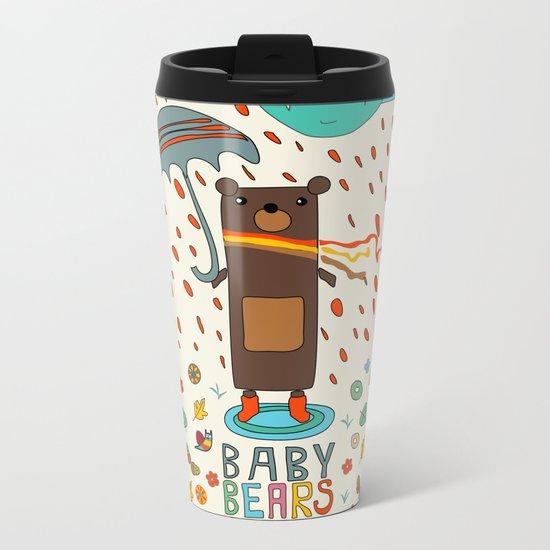 Baby Bears Icecar Metal Travel Mug