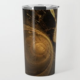 Golden Clock Travel Mug