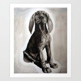 Leroy in B&W Art Print