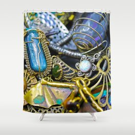 Jewelry Cluster 1 Shower Curtain