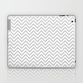 Grey Chevron Laptop & iPad Skin