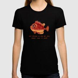Not Awake Fish T-shirt