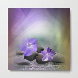 evergreen blossoms -1- Metal Print