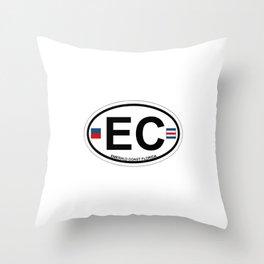 Emerald Coast - Florida. Throw Pillow