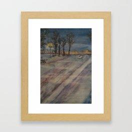 Cold Times Framed Art Print
