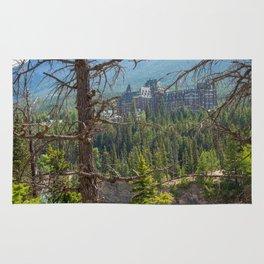 Banff Springs Hotel Rug