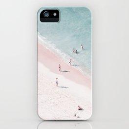 beach family love iPhone Case
