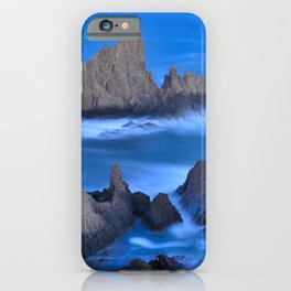 Blue sunset at the singing Mermaid Reef iPhone Case
