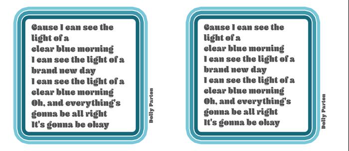 Dolly Parton Light of a Clear Blue Morning Coffee Mug