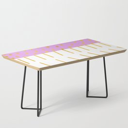 AZTEC BABE - Modern Pink Furniture Coffee Table