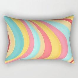 Candy Curves Rectangular Pillow