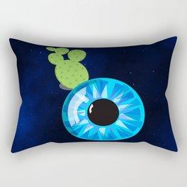 Cactus Eyeball Rectangular Pillow