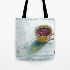 Cherry compote in my cup Tote Bag