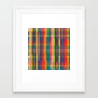 cracked Framed Art Prints featuring Cracked by datavis/pwowk