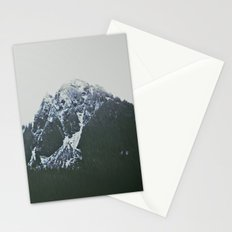 Vintage Snowy Mountain Stationery Cards