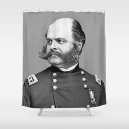General Ambrose Burnside Shower Curtain