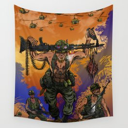 War Machine - The Nam Dude Wall Tapestry