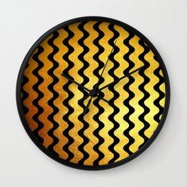 Wavy & Sassy Wall Clock