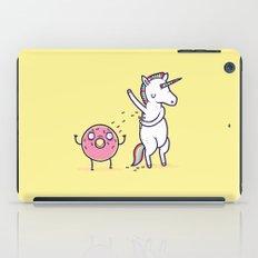 How donuts get sprinkles iPad Case
