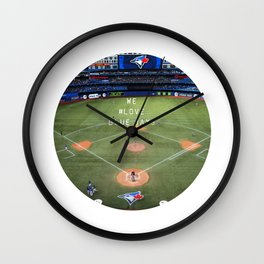 We #LOVE Blue Jays - Toronto, ON, Canada Wall Clock