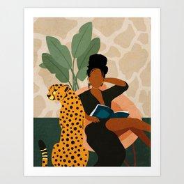 Stay Home No. 1 Art Print