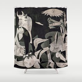 GUERNICA #1 - PABLO PICASSO Shower Curtain