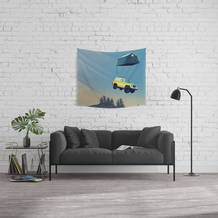 Darling, time to move on... Wall Tapestry
