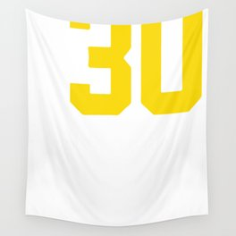 Curry Steph Curry 30 Wall Tapestry